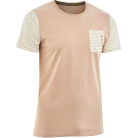 Edelrid Angama - Camiseta manga corta Hombre - beige